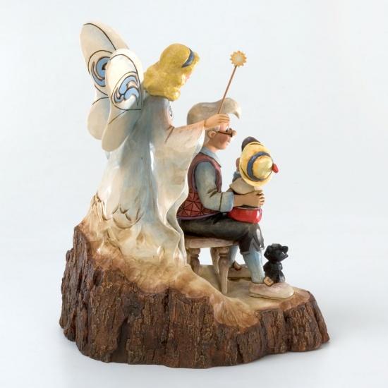 Disney Traditions Wishing Upon A Star Pinocchio Figurine